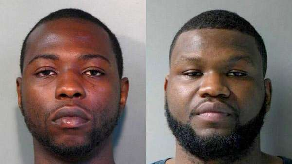Leonel Volcy, 27, left, and Yvenel Fede, 19,