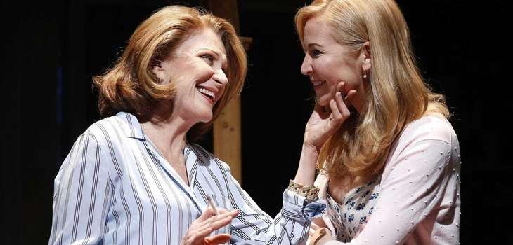 Linda Lavin and Jennifer Westfeldt in a scene