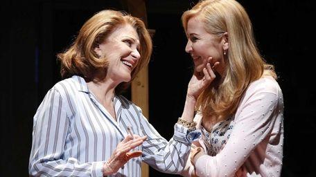 Linda Lavin and Jennifer Westfeldt in a scene