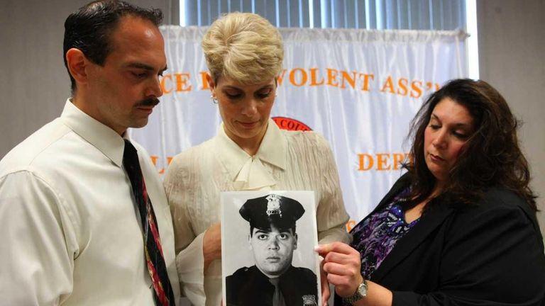 Matthew Giglio, Regina Giglio and Doreen Giglio-Velardi, family
