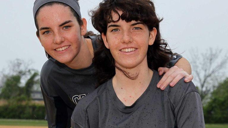 Oceanside sisters Claire, left, and Megan McNamara pose