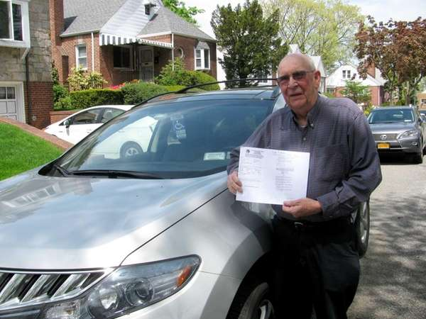 """Kenneth Wilkinson's ticket cited """"handicapped parking out of"""