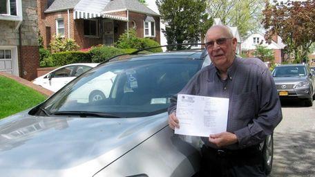 Kenneth Wilkinson's ticket cited