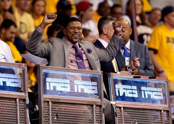 SPN analyst and former NBA player Jalen Rose