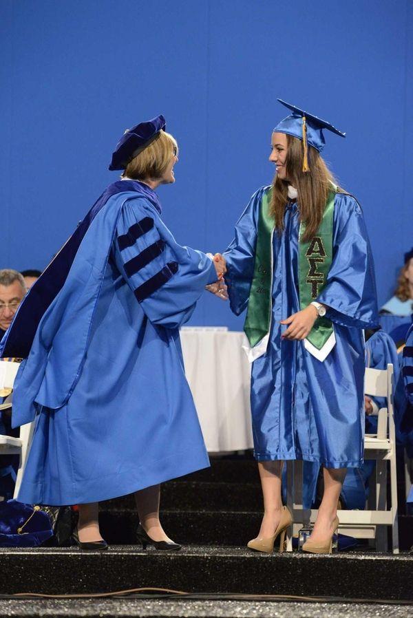 Honorary degree recipient Patricia D. Horoho, a U.S.