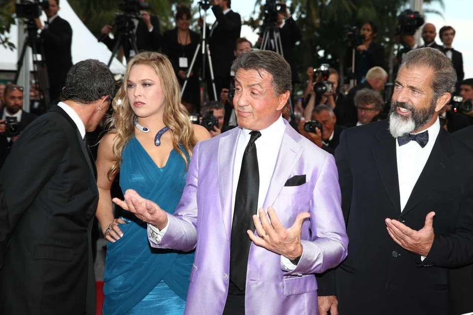 CANNES, FRANCE - MAY 18: Actors Mel Gibson,