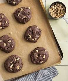 The fudge walnut brownie cookie recipe can be
