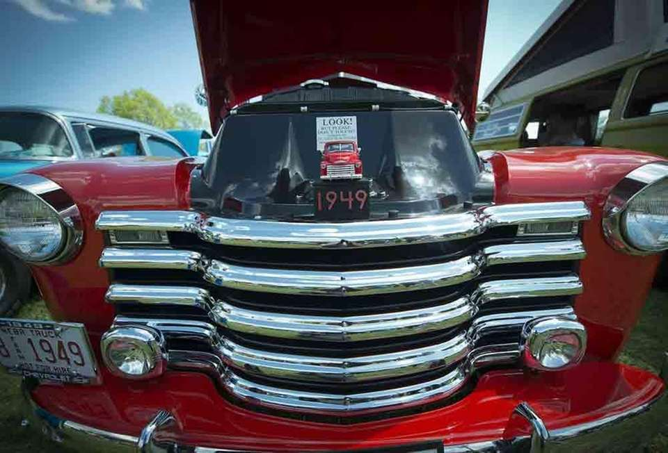 This 1949 Ford truck represent some of the
