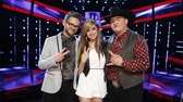 "The final three contestants on ""The Voice"" are"