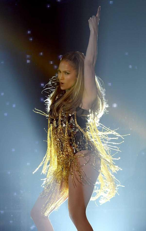 Jennifer Lopez performs during the 2014 Billboard Music