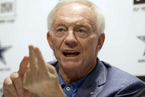 Dallas Cowboys owner Jerry Jones talks about the