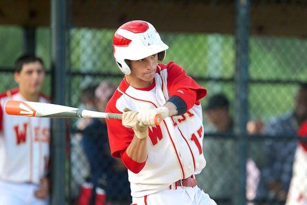 Half Hollow Hills West shortstop Kenny Schiotis (17)