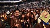 (L-R) Adelphi University students Trever Jones, Sarah Monahan,