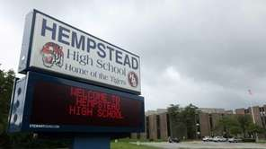 Hempstead High School on Aug. 22, 2013.