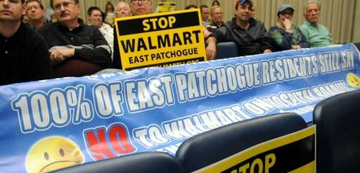 More than 200 East Patchogue residents turned out