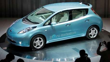 Nissan is recalling 211 model-year 2014 Nissan Leaf