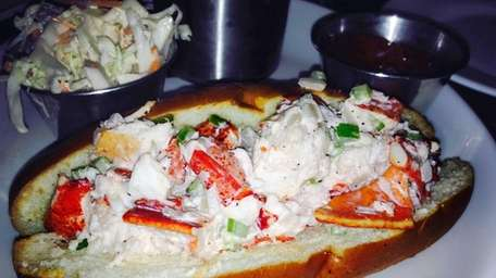 A lobster roll is among the choices at
