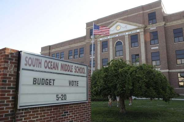 South Ocean Avenue Middle School in Patchogue posts