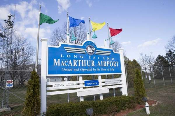 Long Island MacArthur Airport in Ronkonkoma, April 23,