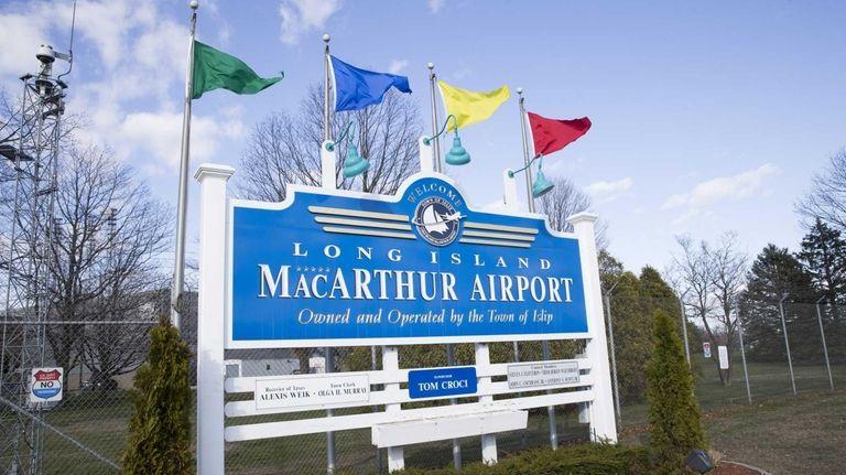Long Island MacArthur Airport in Ronkonkoma, April 23,