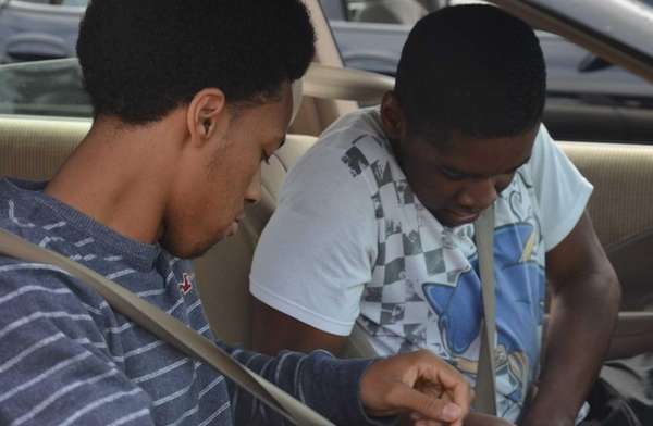 Deer Park High School students race to buckle
