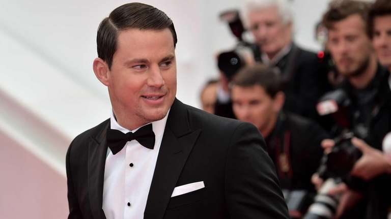 Channing Tatum arrives for a screening of