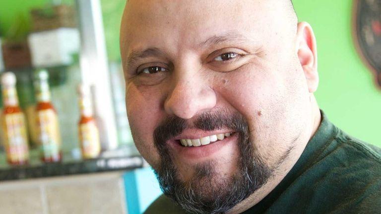 Artie Berke at his restaurant, Cilantro, in Northport