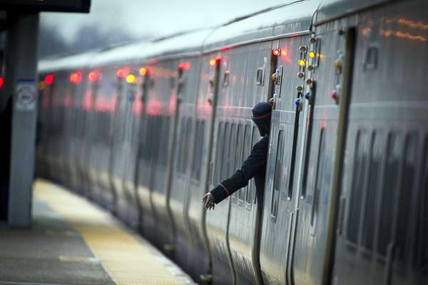 The Long Island Rail Road temporarily suspended four