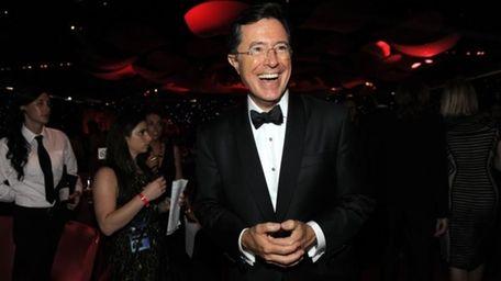 Stephen Colbert at the 64th Primetime Emmy Awards