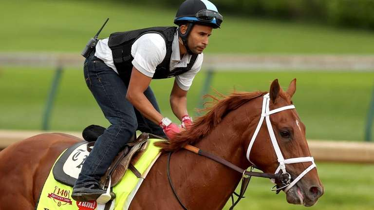 Danza will not run in the Belmont Stakes.