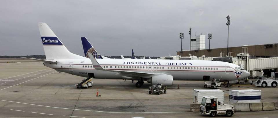 Continental used to run flights out of Long