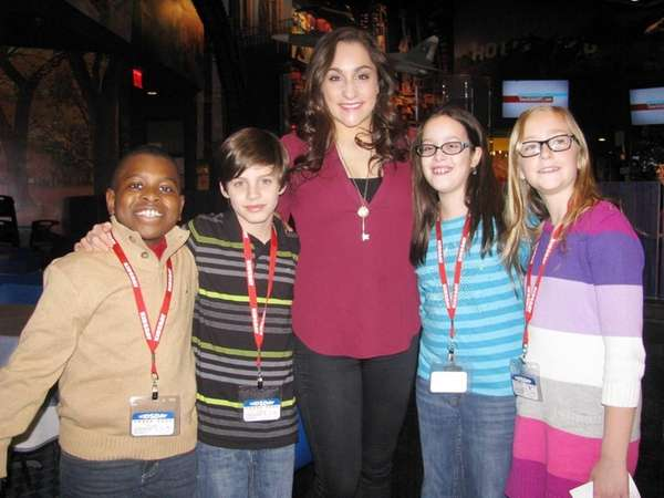 Olympic gymnast Jordyn Wieber at Planet Hollywood in