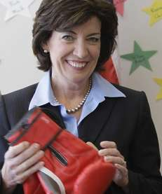 Kathy Hochul, a former congresswoman from the Buffalo