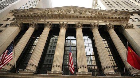 The New York Stock Exchange on May 21,