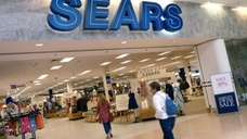 Sears shoppers are in Peabody, Mass., on May