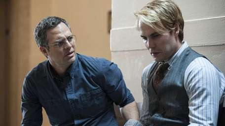 Mark Ruffalo, left, and Taylor Kitsch star in