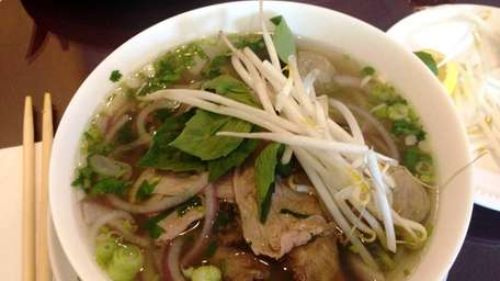 Pho special,with beef filet, beef shank, beef ball