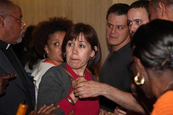 Maribel Toure leaves the New York State Supreme