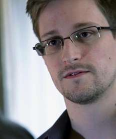 Edward Snowden, who worked as a contract employee