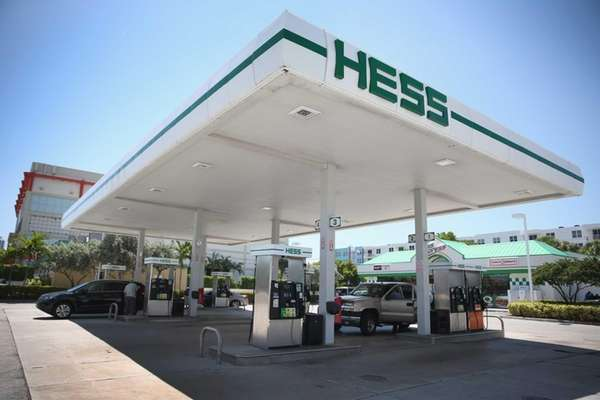 A Hess gas station on May 22, 2014