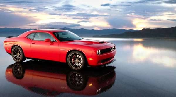The 2015 Dodge Challenger SRT Hellcat uses a