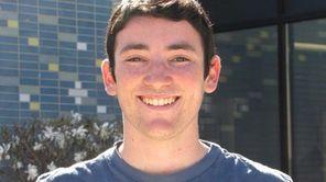 Daniel Gottlieb, 18, a senior at Bethpage High