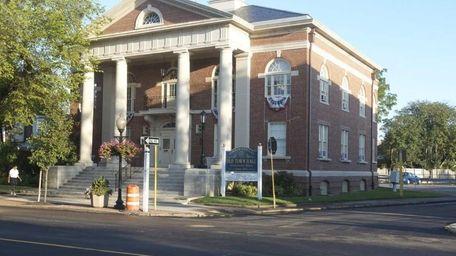 Babylon Old Town Hall,a national historic landmark, is