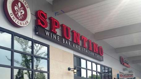 Spuntino Wine Bar and Italian Tapas is in