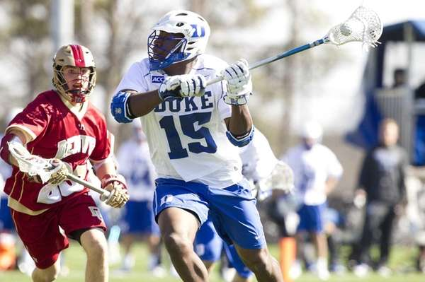 Duke lacrosse player Myles Jones, formerly of Walt