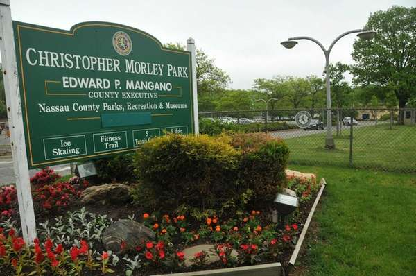 Christopher Morley Park in Roslyn, photographed May 22,