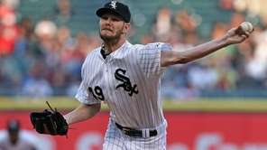 Starting pitcher Chris Sale of the Chicago White