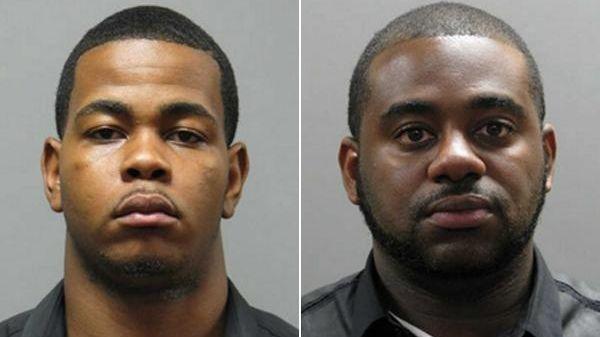 Otis Barnes, 23, of Brooklyn, and Kenneth Osias,