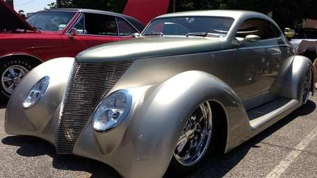 The 1937 Ford street rod.