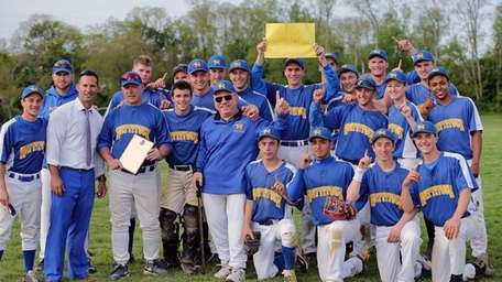 Mattituck poses for a photo after defeating Center
